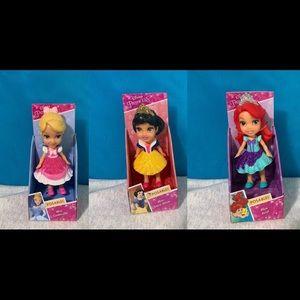 Disney mini figures